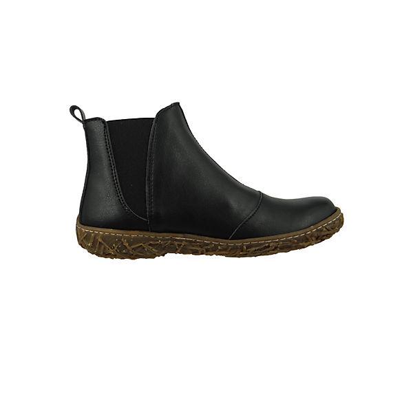 EL NATURALISTA, Schuhe Vegane Damen Stiefelette N786T Nido Vegan schwarz  Schwarz Klassische Stiefeletten, schwarz  schwarz Gute Qualität beliebte Schuhe da4fc3
