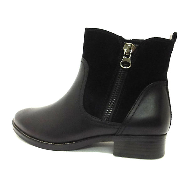 CAPRICE, Stiefel schwarz Klassische Stiefeletten, schwarz/grün  Gute Qualität beliebte Schuhe