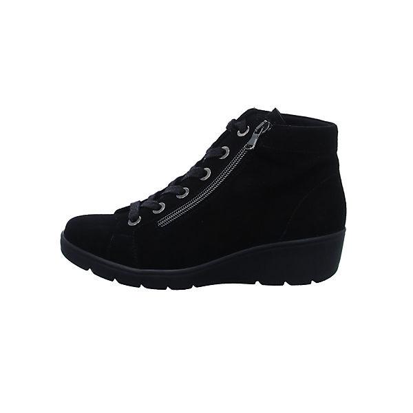 Semler, Semler, Semler, Schnürstiefeletten, schwarz  Gute Qualität beliebte Schuhe 3f66c8
