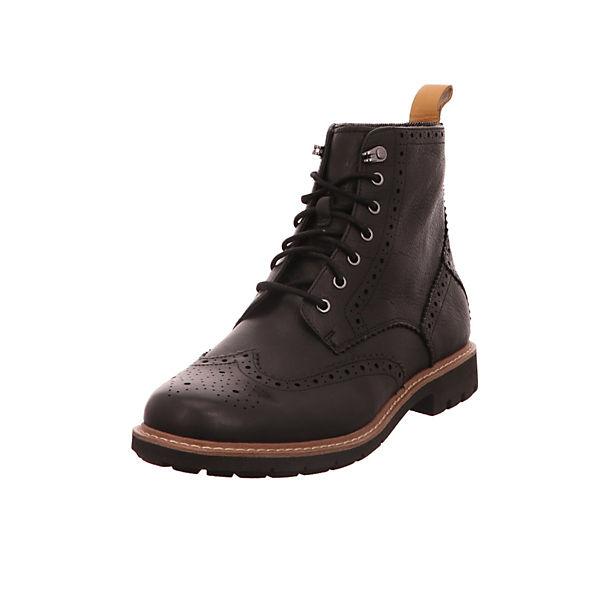 257cdfab2536 Clarks, Stiefel schwarz Klassische Stiefel, schwarz   mirapodo