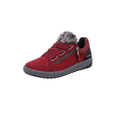 Schnürschuhe rot Sneakers Low