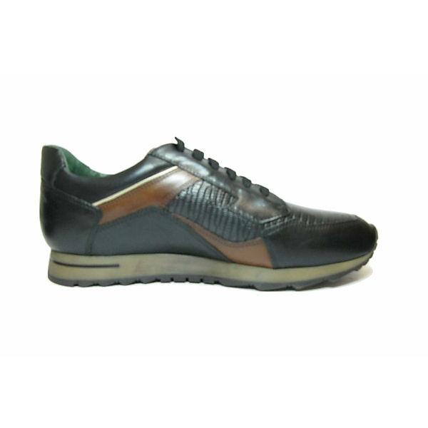 Torresi Schnürschuhe Sneakers Low Schwarz Galizio OPZXTuki