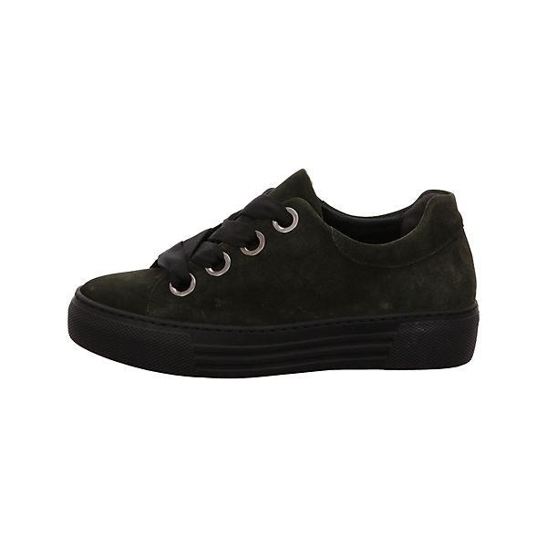 Gabor, Schnürschuhe dunkel-grün Sneakers Niedrig, grün  Gute Qualität beliebte Schuhe