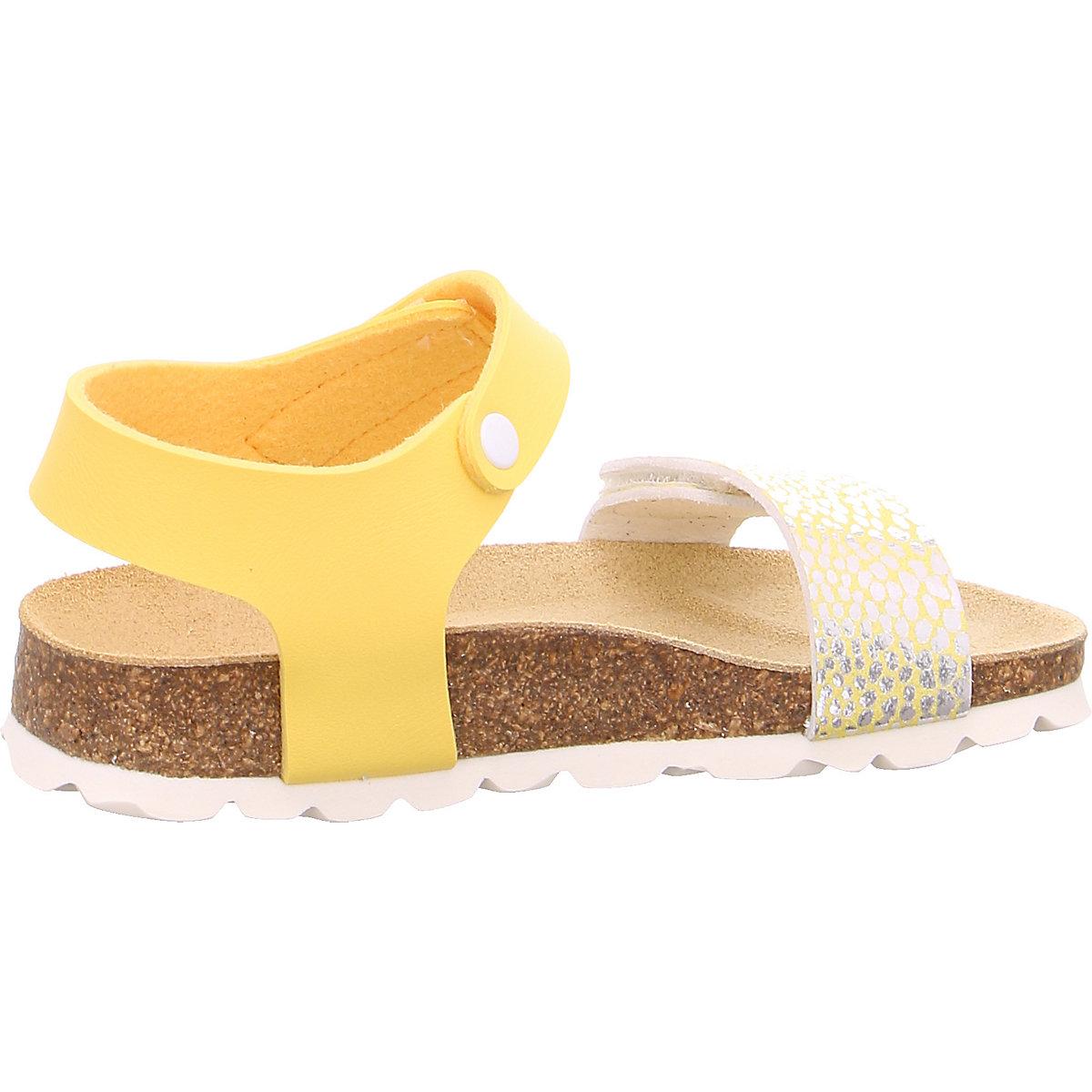 Superfit, Sandalen Für Mädchen, Gelb