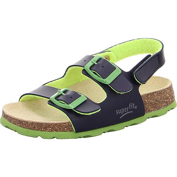 buy online 2b43e 79c39 superfit, Sandalen für Jungen, blau