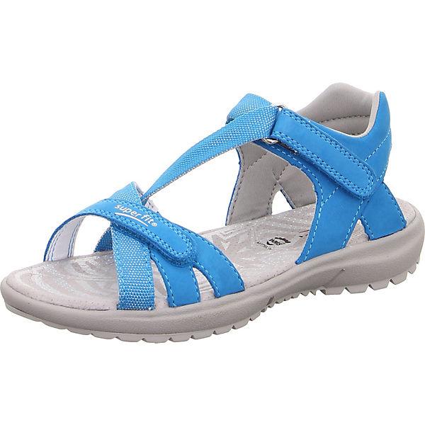 Gutes Angebot superfit Sandalen RAINBOW für Mädchen WMS-Weite M4 blau
