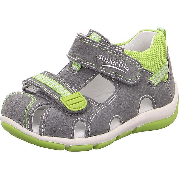 Gutes Angebot superfit Baby Sandalen FREDDY für Jungen WMS-Weite M4 hellgrau
