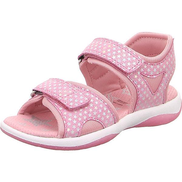 Online kaufen stabile Qualität limitierte Anzahl superfit, Sandalen SUNNY für Mädchen, WMS-Weite M4, rosa