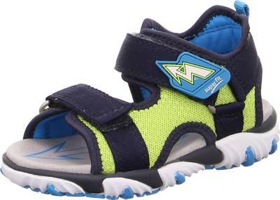 superfit, Sandalen MIKE 2 für Jungen, WMS Weite M4, blaugrün