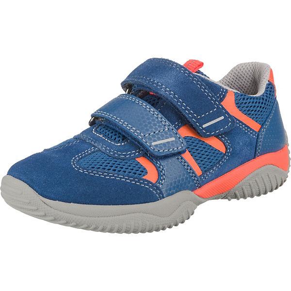 save off 41fa9 b4e91 superfit, Halbschuhe STORM für Jungen, WMS-Weite M4, blau/orange