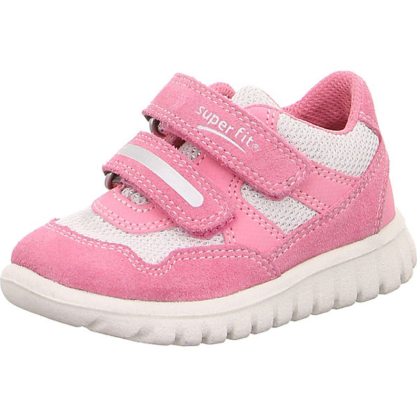 new product 9bc99 d680a superfit, Baby Sneakers Low SPORT7 MINI für Mädchen, WMS-Weite M4, rosa