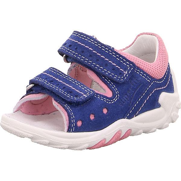 Gutes Angebot superfit Baby Sandalen FLOW für Mädchen WMS-Weite M4 blau