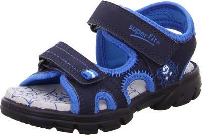 superfit, Sandalen SCORPIUS für Jungen, WMS Weite M4, blau