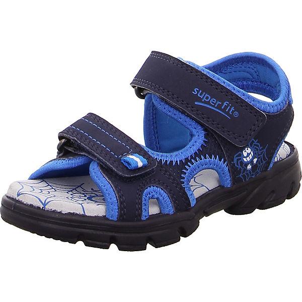 super popular e281c 9d3ab superfit, Sandalen SCORPIUS für Jungen, WMS-Weite M4, blau
