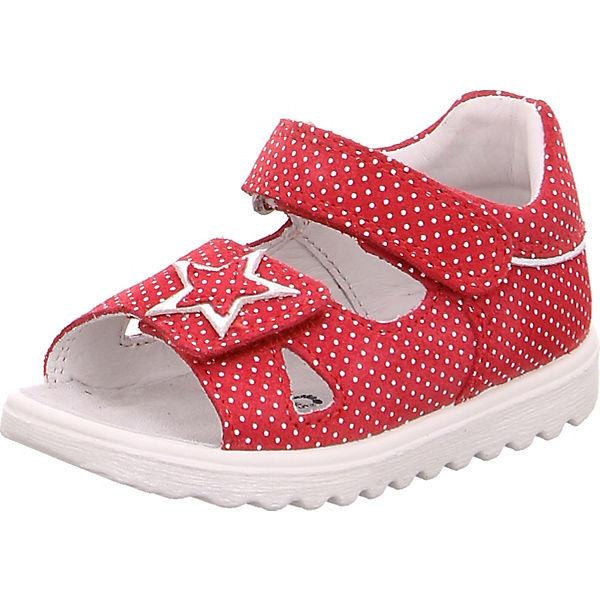 Gutes Angebot superfit Baby Sandalen LETTIE für Mädchen WMS-Weite M4 rot