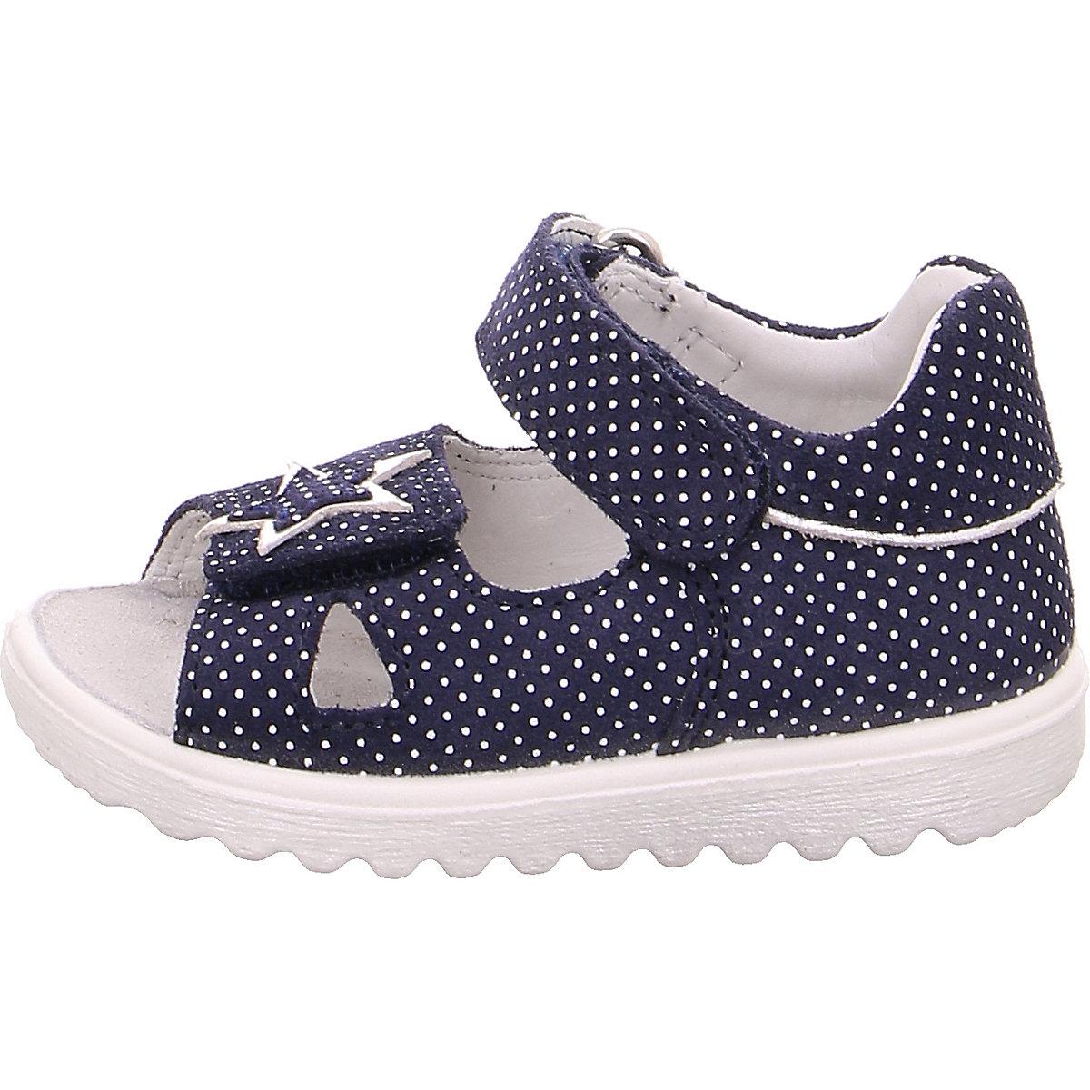 Superfit, Baby Sandalen Lettie Für Mädchen, Wms-weite M4, Blau