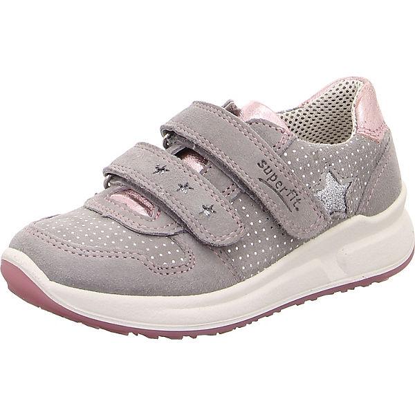 separation shoes dee9e 6be92 superfit, Halbschuhe MERIDA HS für Mädchen, WMS-Weite M4, grau