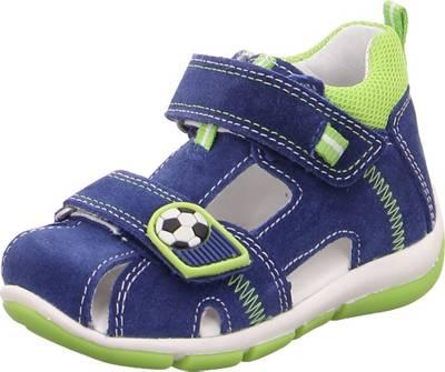 superfit, Baby Sandalen FREDDY für Jungen, WMS Weite M4, blaugrün