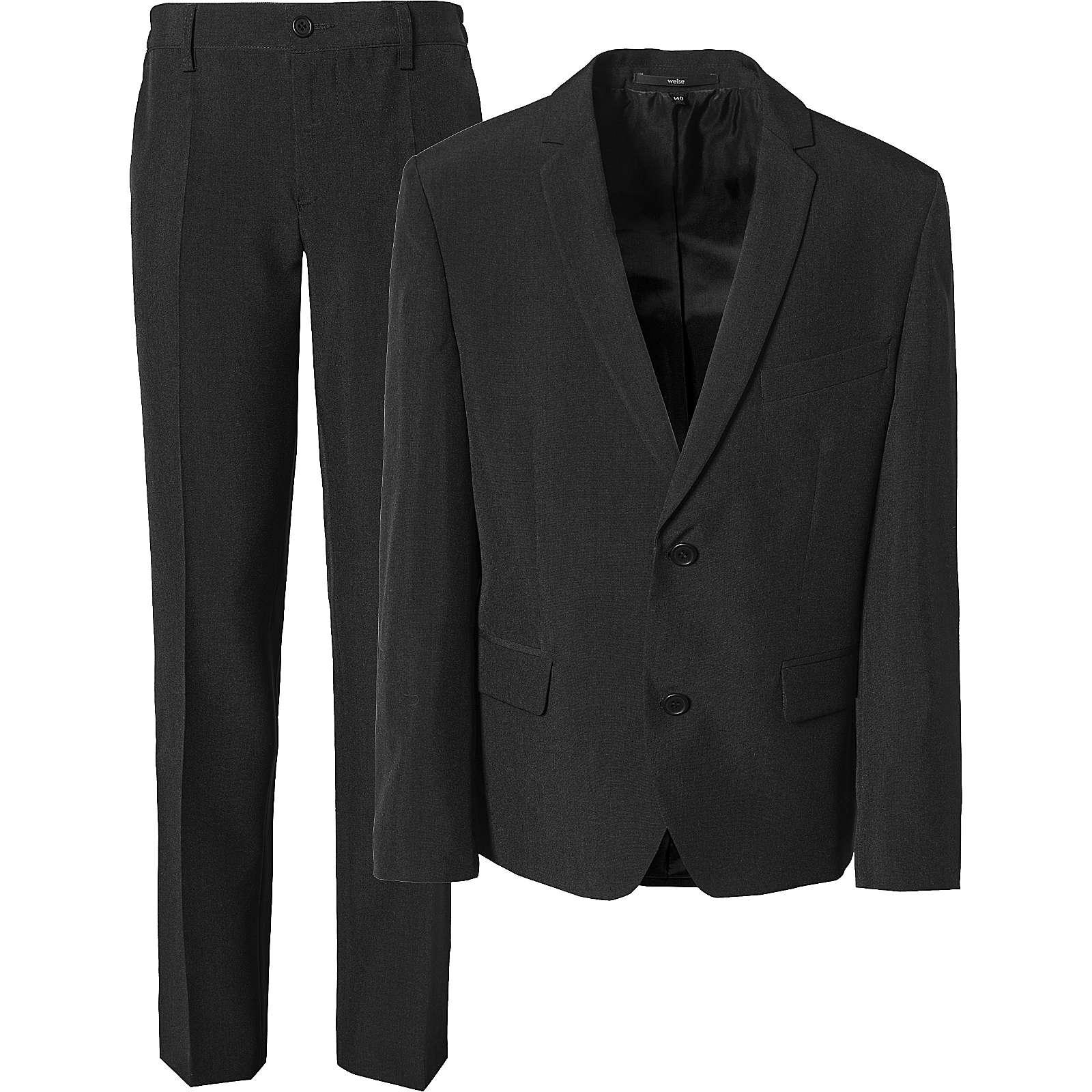 Weise Kinder Anzug, Regula Fit schwarz Junge Gr. 128