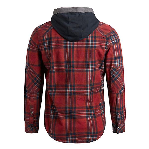 Khujo Tamilo Langarmhemden rot Hemd Blau lFJTcK1