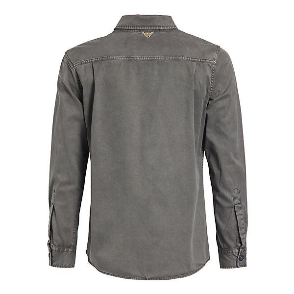 Langarmhemden Hemd Grau Khujo Tamal WDeHYE29I