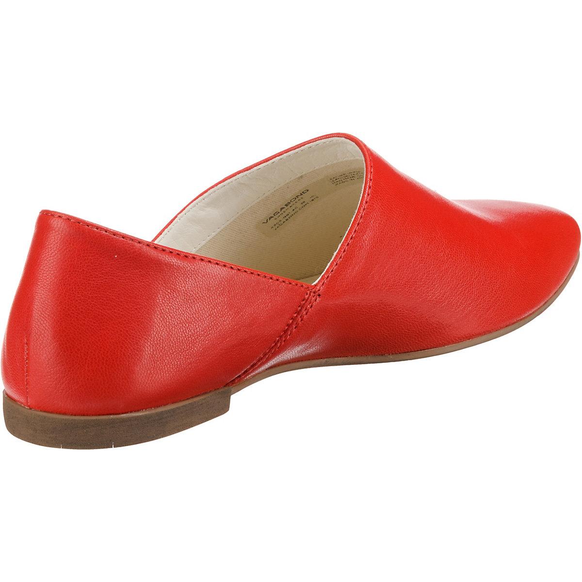 Vagabond, Ayden Klassische Slipper, Rot