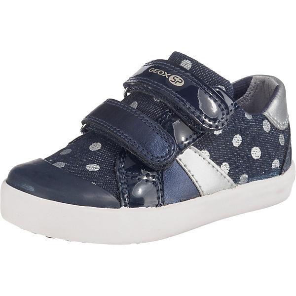 great fit cheap for discount factory authentic GEOX, Baby Halbschuhe GISLI GIRL für Mädchen, blau/silber