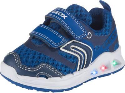 GEOX, Baby Sneakers Low Blinkies DAKIN BOY für Jungen, blau