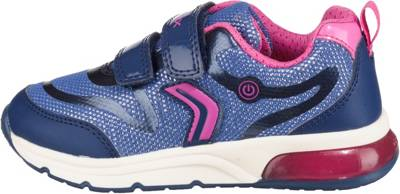 Blinkies GeoxSneakers MädchenBlauMirapodo Low Spaceclub Für Girl jAcq35R4L