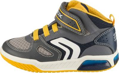 GEOX, Sneakers High GRAYJAY Blinkies für Jungen, blau