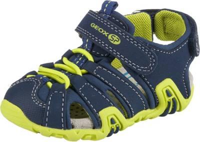 GEOX, Baby Sandalen KRAZE für Jungen, blaugrün