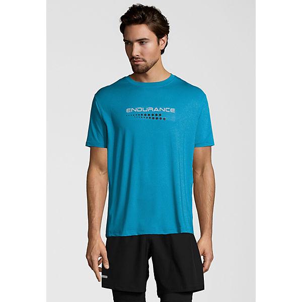 Mit shirts Funktionsshirt Quick technologie Carbondale Dry T Endurance Blau Acq354RLSj