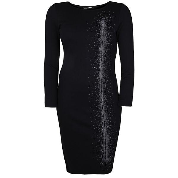 Streich Doris Applikationen Mit Schwarz Jerseykleider Jerseykleid mNvn80wO