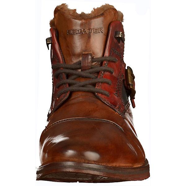 DANIEL HECHTER, Gute Stiefelette Schnürstiefeletten, braun Gute HECHTER, Qualität beliebte Schuhe fb3ef0
