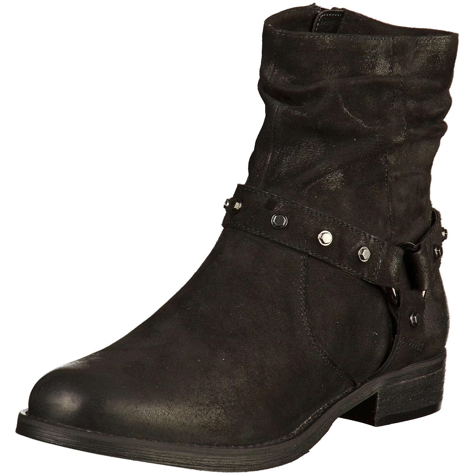 SPM Biker Boots schwarz Damen Gr. 39