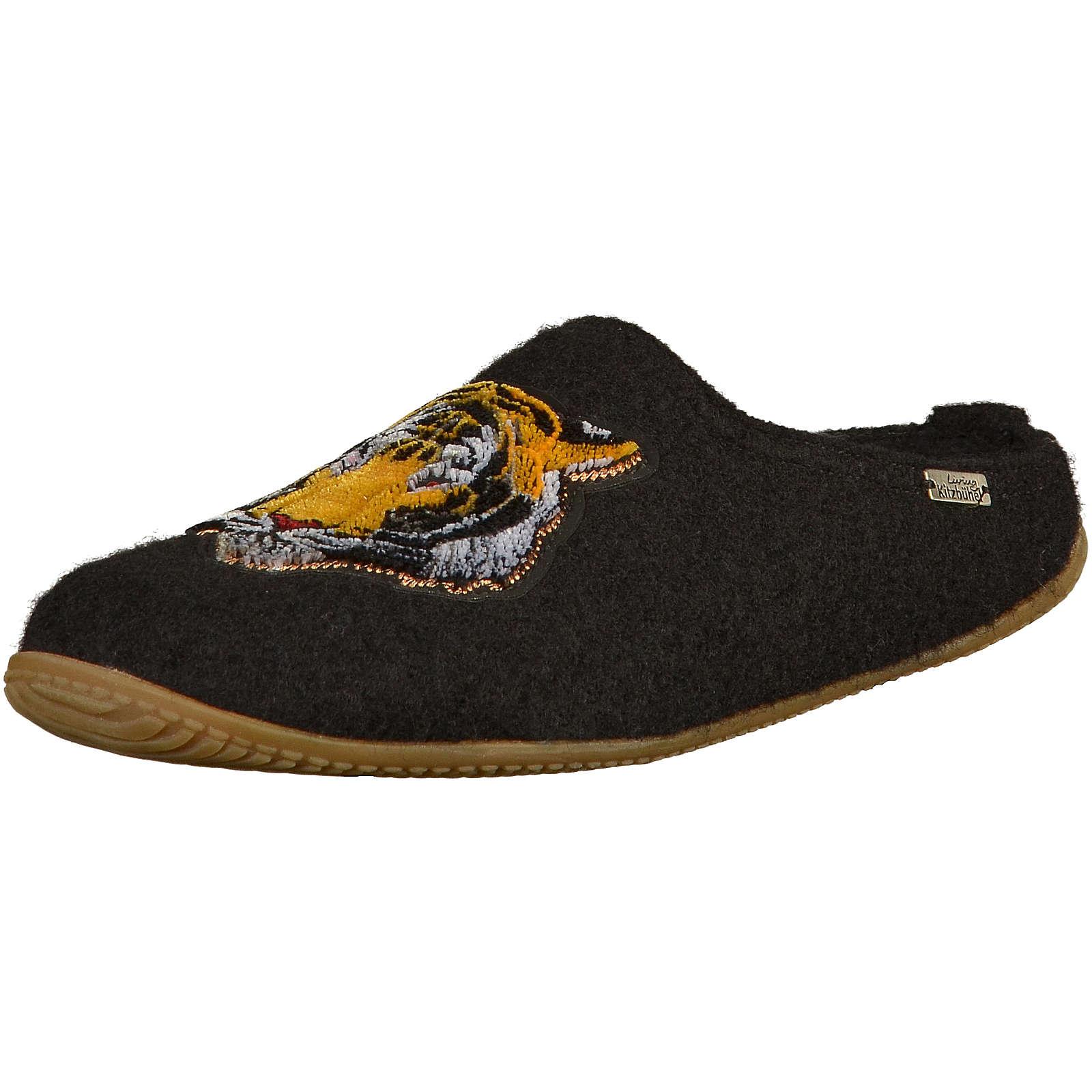 Living Kitzbühel Hausschuhe Pantoffeln schwarz Damen Gr. 36