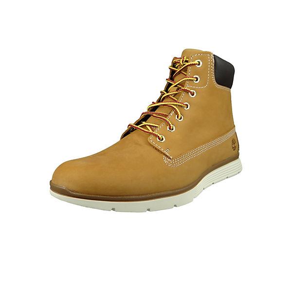 Herren Boots Killington 6 Inch Wheat Leder Braun CA191W Schnürstiefeletten.  Timberland bcf4606b1f
