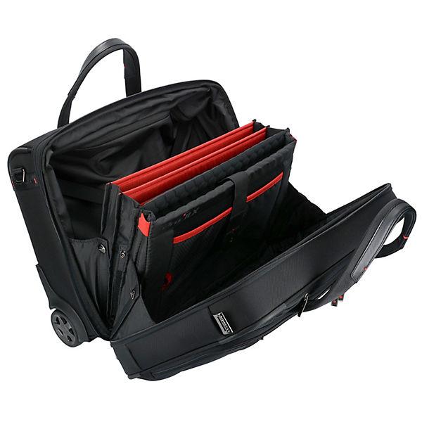 dlx Trolley Laptopfach Schwarz Pro Cm 46 Upright Samsonite 2 rollen 5 Business gybf7Y6
