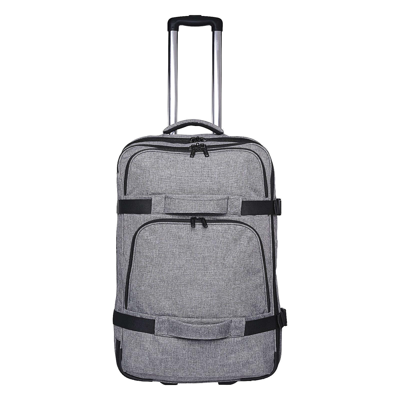 CHIEMSEE Reisetasche mit vielen funktionellen Details dunkelgrau