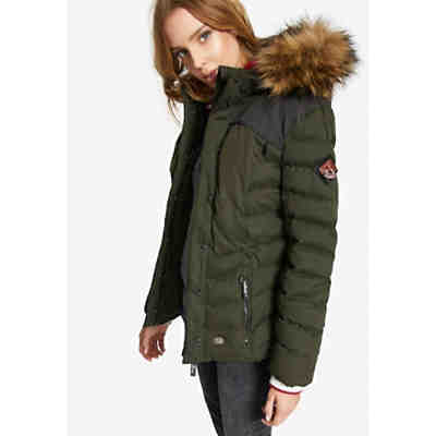 khujo Jacke PERD WITH RIB COLLAR Outdoorjacken