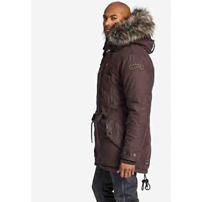 Parka UNKAR SOLID WITH INNER FUR JACKET
