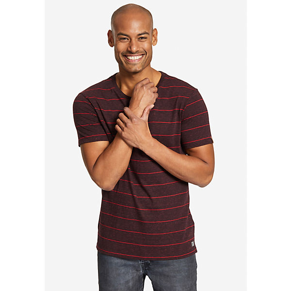 Dunkelrot shirts Khujo T shirt T Tint sCdtrxohQB