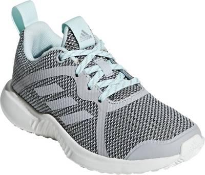 adidas Performance, Sportschuhe RAPIDARUN X J für Mädchen, blue denim