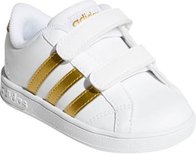 adidas Sport Inspired, Baby Sneakers BASELINE CMF, gold/weiß