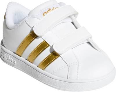 adidas Sport Inspired, Baby Sneakers BASELINE CMF, goldweiß