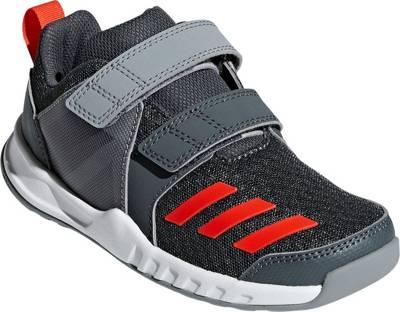 Details zu Adidas Kinder Jungen Sport Freizeit Cloudfoam Schuhe Forta GYM Blau Gelb CG2682