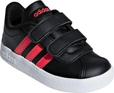 adidas Performance, Baby Sneakers VL COURT 2.0 CMF I für Mädchen, schwarzpink
