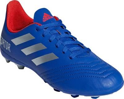 adidas Performance, Fussballschuhe PREDATOR 19.4 FxG J für Jungen, blau