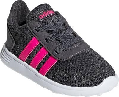 adidas Sport Inspired, Baby Sneakers LITE RACER INF für Mädchen, dunkelgrau