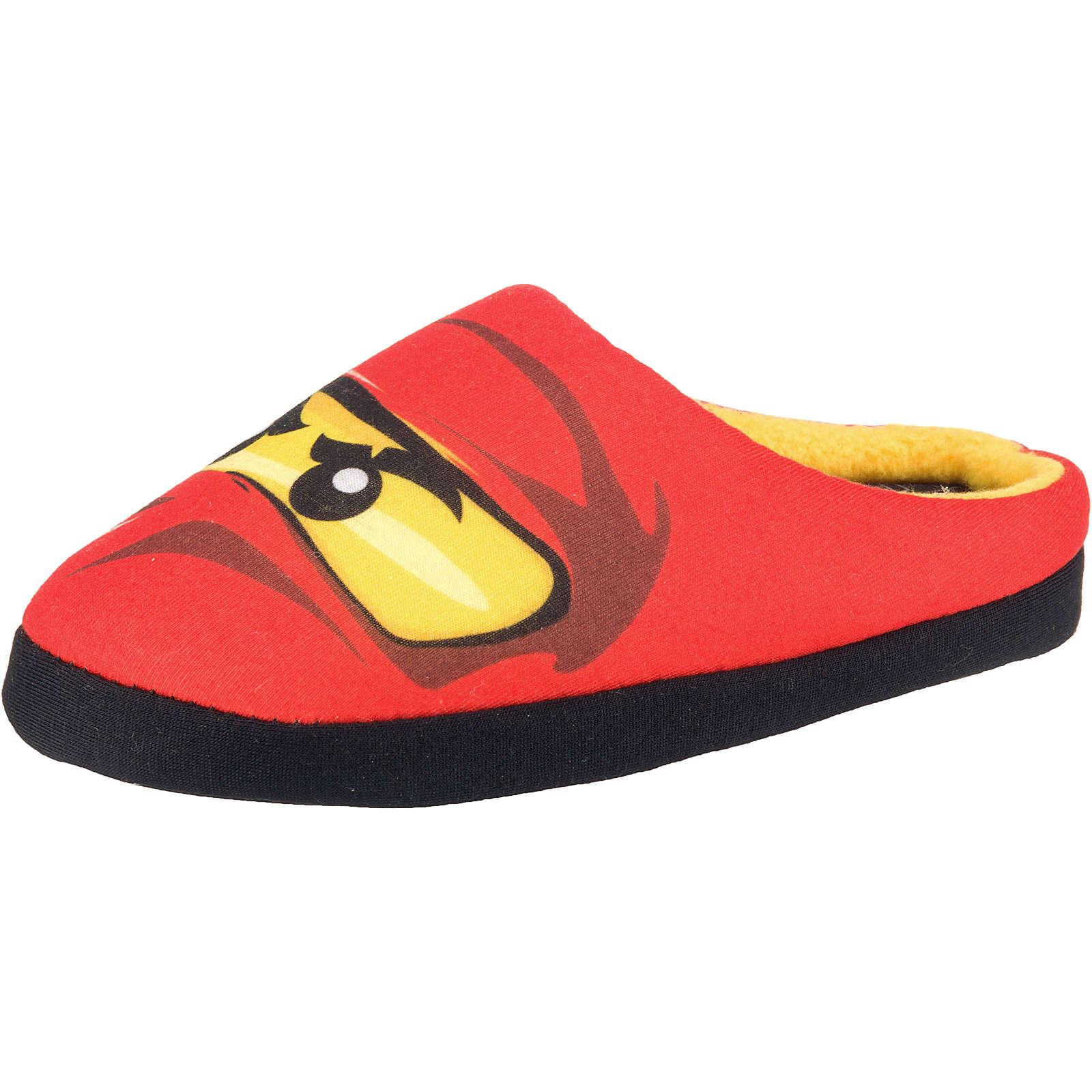 LEGO Ninjago Hausschuhe für Jungen rot Junge Gr. 26/27